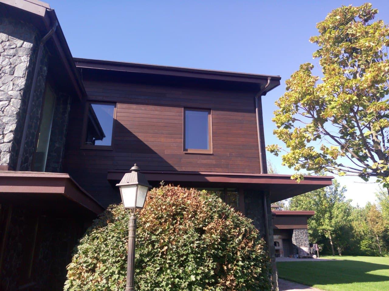 Монтаж фасадов из термодревесины качественно